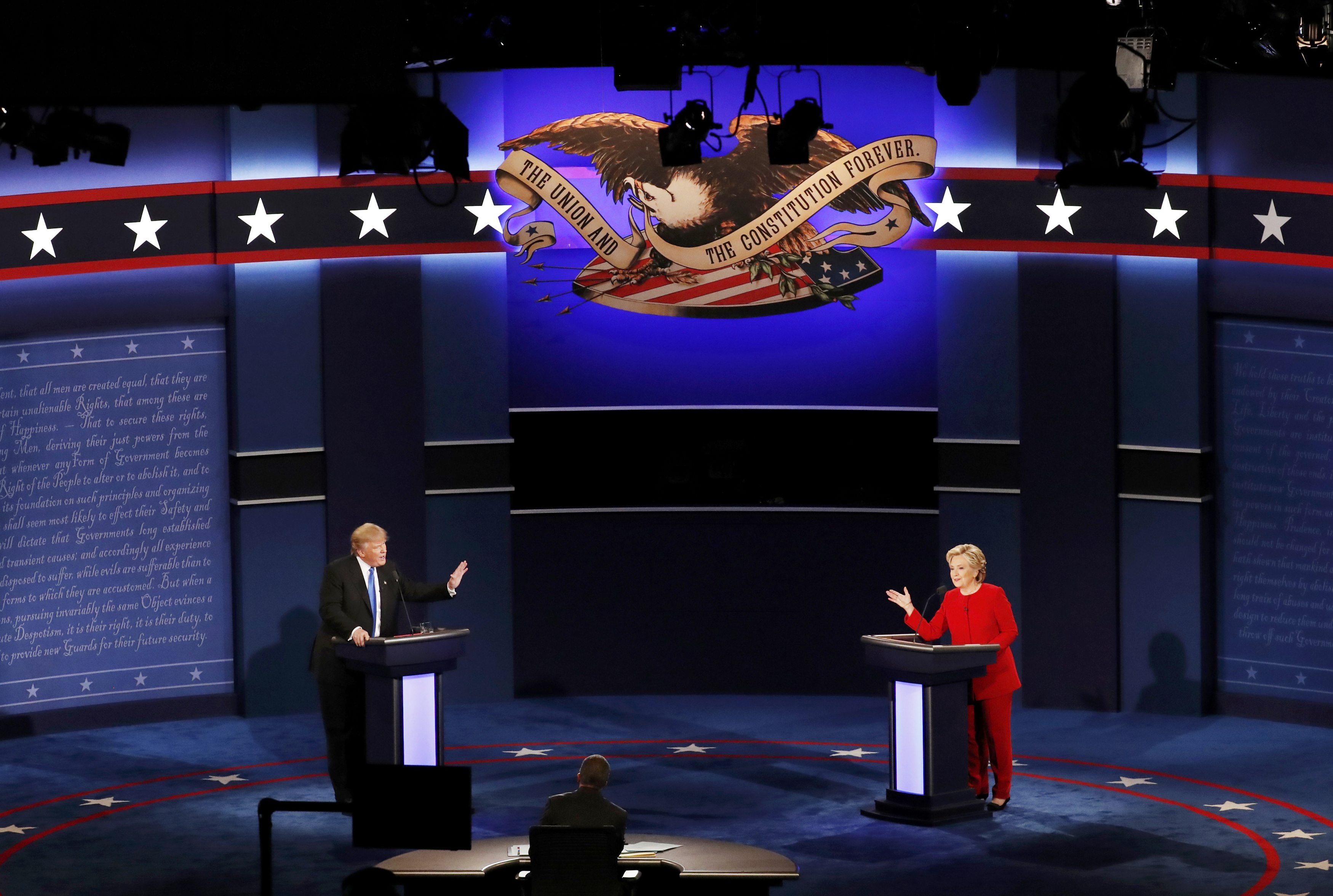 Duel Clintonová-Trump