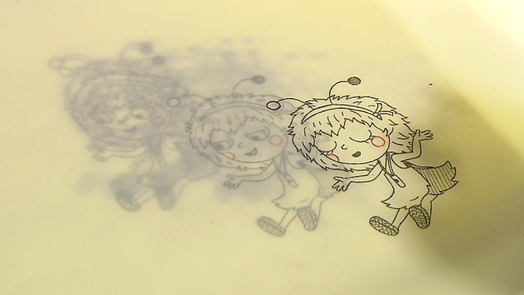 Rozpracovaná animace ve studiu Bratři v triku