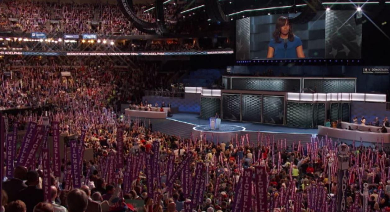 Michelle Obamová: Nenechte kohokoliv říkat, že tato země není skvělá