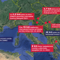 Ploty na hranicích v Evropě
