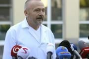 Ošetřující lékař prezidenta Miloše Zemana a ředite ÚVN Miroslav Zavoral