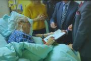 Miloš Zeman na záznamu z nemocnice