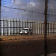 Zeď na hranici s Mexikem