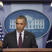 Americký prezident Barack Obama po střelbě na škole v  Oregonu
