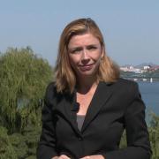 Zpravodajka ČT Barbora Šámalová v severokorejské metropoli Pchjongjangu