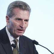 Eurokomisař Günther Oettinger