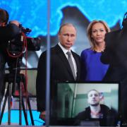 Ruský prezident Vladimir Putin debatoval s občany