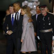 Americký prezident Barack Obama přiletěl do Británie