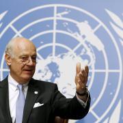 Zvláštní zmocněnec pro Sýrii Staffan de Mistura