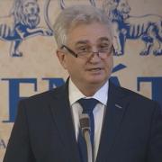 Milan Štěch během projevu ke Dni památky obětí holocaustu