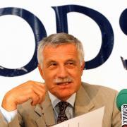 Václav Klaus na snímku z roku 1997