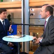 Manfred Weber v rozhovoru s Lukášem Dolanským