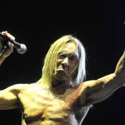 Iggy Pop na koncertě ve Frýdku-Místku