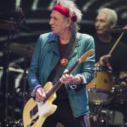 Keith Richards a Charlie Watts