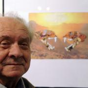 Básník a kolážista Ivo Vodseďálek