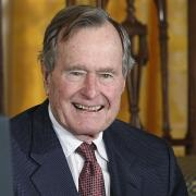Exprezident George Bush starší (snímek z února 2015)