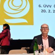 Bohuslav Sobotka na zasedání předsednictva ČSSD