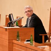 Předseda Senátu Milan Štěch (ČSSD)