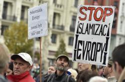 Demonstrace v Brně proti islámu