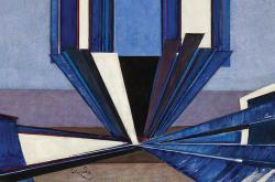 rantišek Kupka / Tvar modré A II (výřez)