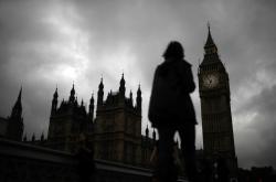 Typické počasí neopustilo Londýn ani v den referenda