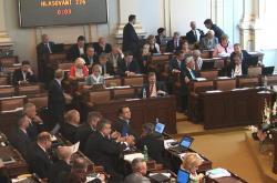 Pohled na jednání Poslanecké sněmovny