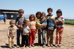 Dětští uprchlíci v Turecku