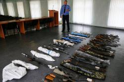 Zbraně zabavené ve Slavjansku