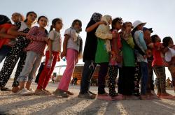 Syrské uprchlice