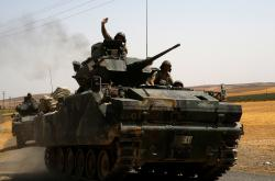 Turecká intervence v Sýrii
