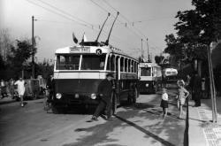 První pražské trolejbusy