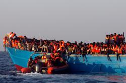 Záchrana migrantů ve Středozemním moři