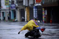 Tchaj-wan zasáhl tajfun Megi