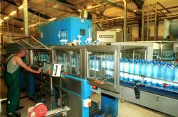 Výrobní linka kyselky Korunní