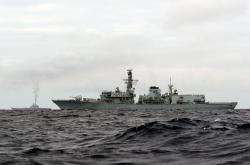 Britská válečná fregata HMS Richmond
