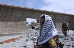 Syrské demokratické síly východně od Rakká