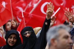 Erdoganovi stoupenci
