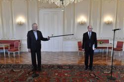 Prezident Miloš Zeman přijal premiéra Bohuslava Sobotku