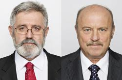 Jaroslav Borka a Josef Novotný