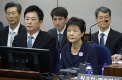 Bývalá jihokorejská prezidentka