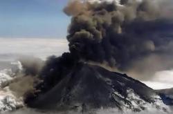 Výbuch sopky na Aljašce