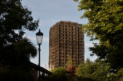 Grenfell Tower po mohutném požáru