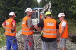 Začala oprava železniční trati do Moldavy v Krušných horách