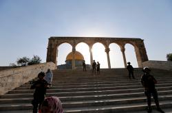 Izraelské bezpečnostní sily na Chrámové hoře