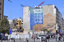 Demolice domu na rohu Václavského náměstí a Opletalovy ulice skončila