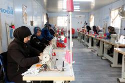 Díky českým penězům fungují i kurzy v jordánském táboře Zátarí