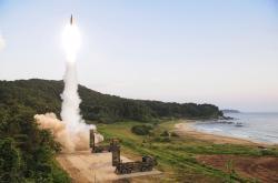 Raketové cvičení v Jižní Koreji