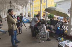 Natáčení v Karlových Varech