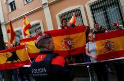 Protest v Barceloně