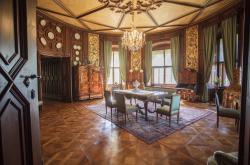 Hostinské pokoje na zámku Hluboká